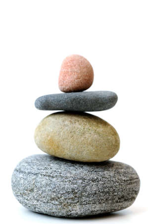 smooth stones: Balancing stones Stock Photo