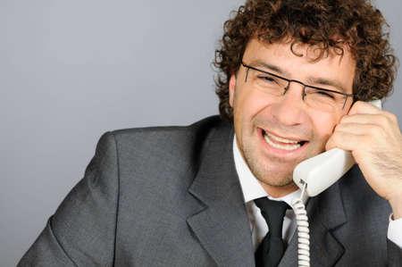 Smiling businessman Stock Photo - 4168283