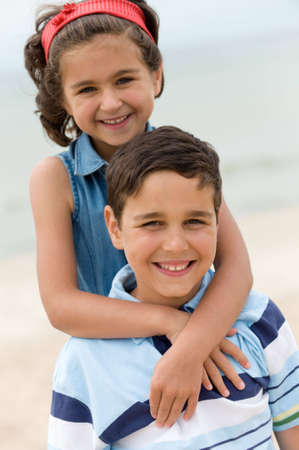 Portrait of happy kids Stock Photo