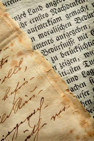 Antique manuscript Stock Photo - 4619406