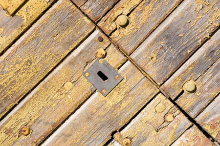 Wooden gates photo