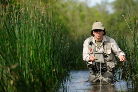anglers: Fly-fishing