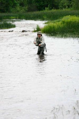 flyfishing: fly-fishing