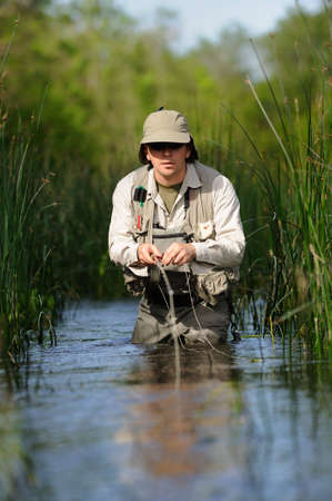 hombre pescando: Pesca