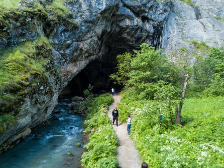 paleolithic: Kapova cave, Shulgan tash nature reserve, Bashkortostan, Russia.