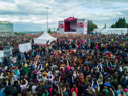 2017. 06. 12 Ufa, Russia: Concert by KFC Editorial