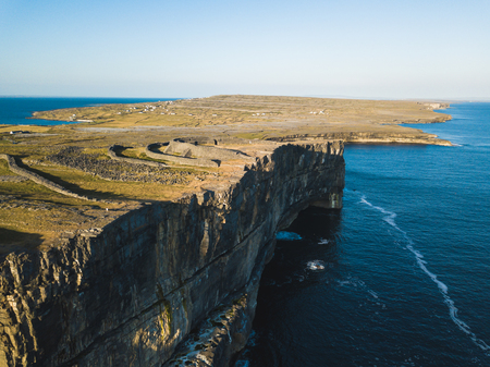 Inishmore on the Aran Islands, Ireland Banco de Imagens