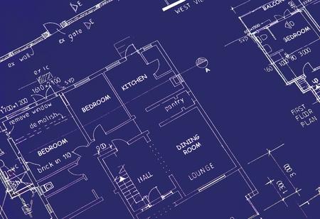 blueprint of building plans