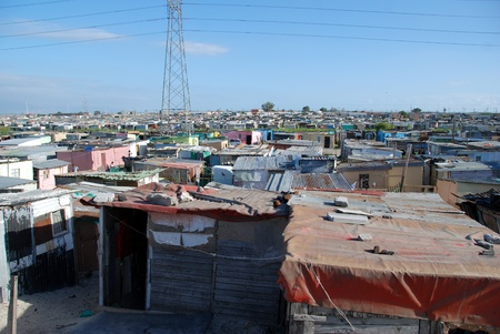 squalor: township in south africa