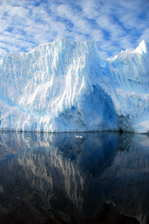 iceberg reflection Stock Photo - 9161372