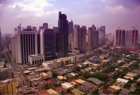 manila: cityscape of manila