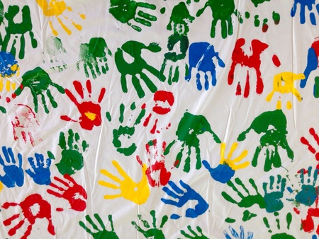 creative: Kids hand prints