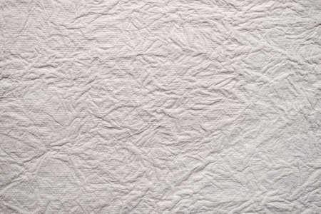crinkled: crinkled white paper