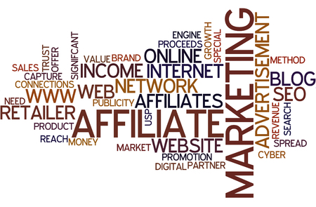 Affilate Marketing Wordcloud
