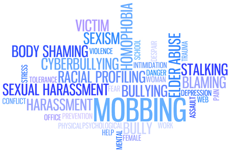 Bullying Wordcloud Foto de archivo - 85099180
