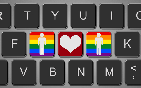 Keyboard Gay Love