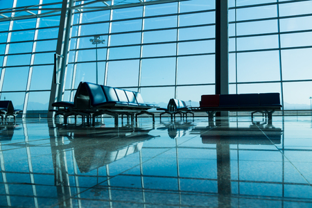 Boarding Area at Airport