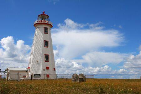 Lighthouse, North Cape photo