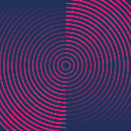 Abstract circles background. Vector design element. Abstract banner
