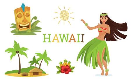 Hawaiian elements set