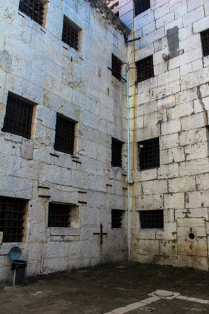 prison: the old prison in the Doges Palace Editorial