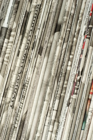 newspaper texture: Pile of newspapers