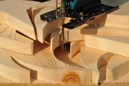 metier: Cutting wood  Fretsaw