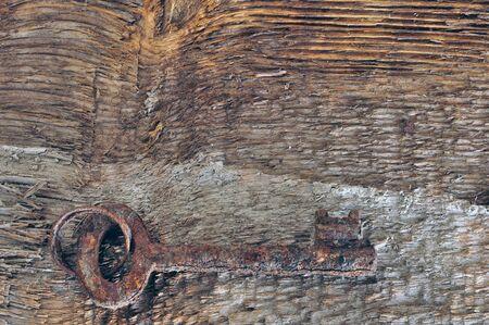 splinter: Old rusty key.