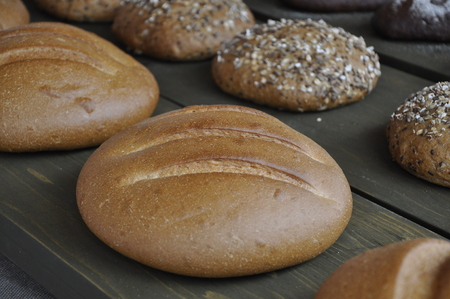 rustic: Rustic bread.