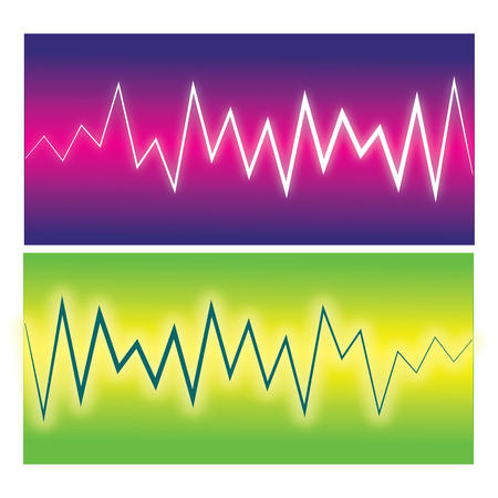 Vector pulse waves. Illustration