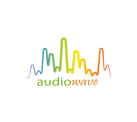 Audio wave logo.