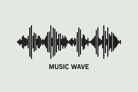 Black music wave.