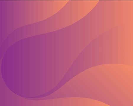 Abstract modern colorful geometric background. Shape gradient purple orange Wavy design. Wave illustration, page, flyer, banner, card.