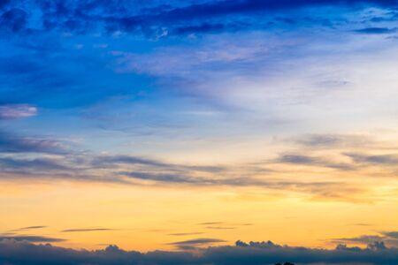 evening sky: Background evening sky