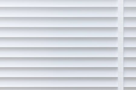 White texture aluminium louver background.