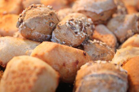bap: bread roll Stock Photo