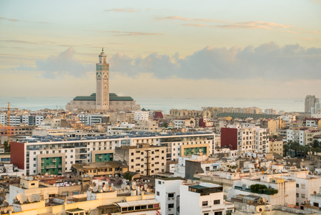View over the city of Casablanca.