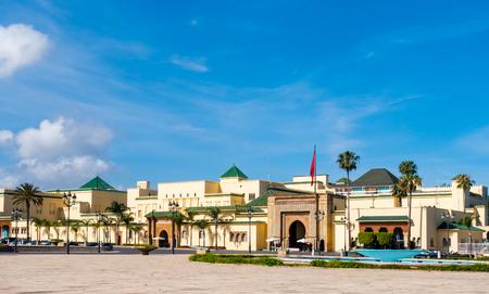 Royal Palace in Rabat, Rabat-Sale-Zemmour-Zaer, Morocco, Maghreb, Africa 新聞圖片
