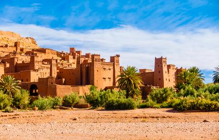 Aït Benhaddou a UNESCO World Heritage Site in Quarzazate province of Morocco, Africa.