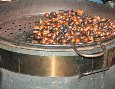 Frying Chestnuts