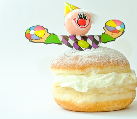 Sugar Donut with the clown