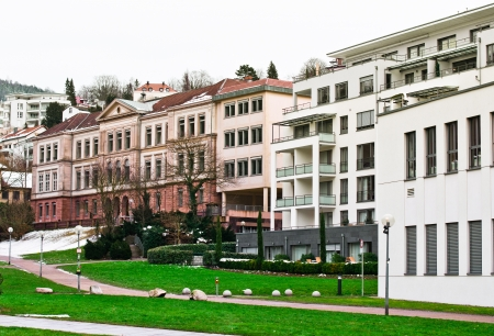 Baden-Baden Detail Stock Photo