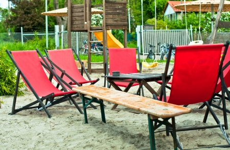 Beach Chairs Stock Photo - 20327712