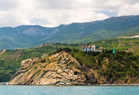 Cape Plaka ,Crimea-Ukraine Stock Photo - 20790814