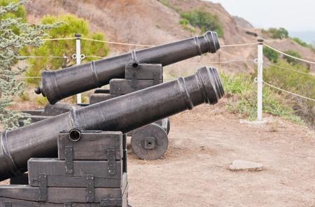 ancient cannon Standard-Bild