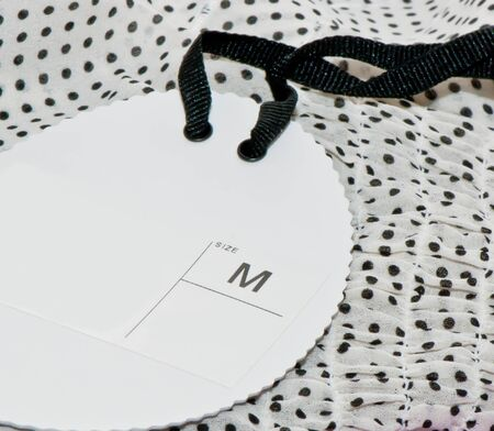 Clothes with label
