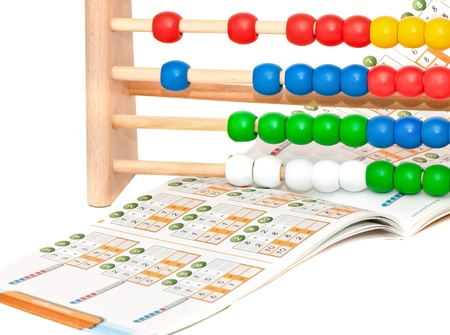 colorful abacus Stock fotó