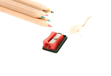 Pencil Eraser and pencil sharpener