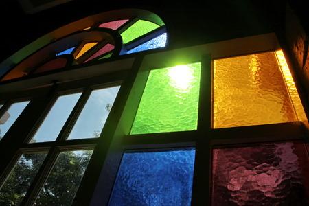 window church: Vetrate chiesa finestra Archivio Fotografico