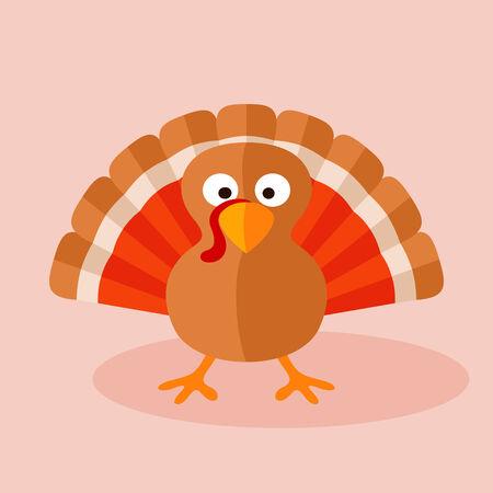 gobbler: Cartoon of turkey.